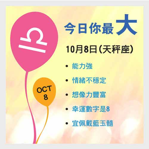 10月8日生日密碼