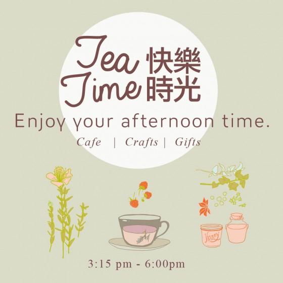 Heidi's Paperie - Tea Time -Square