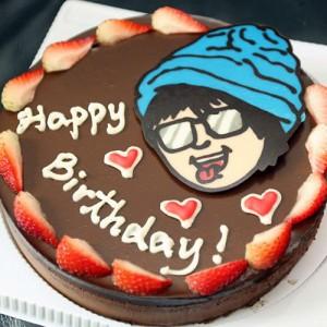 Q版卡通人像蛋糕